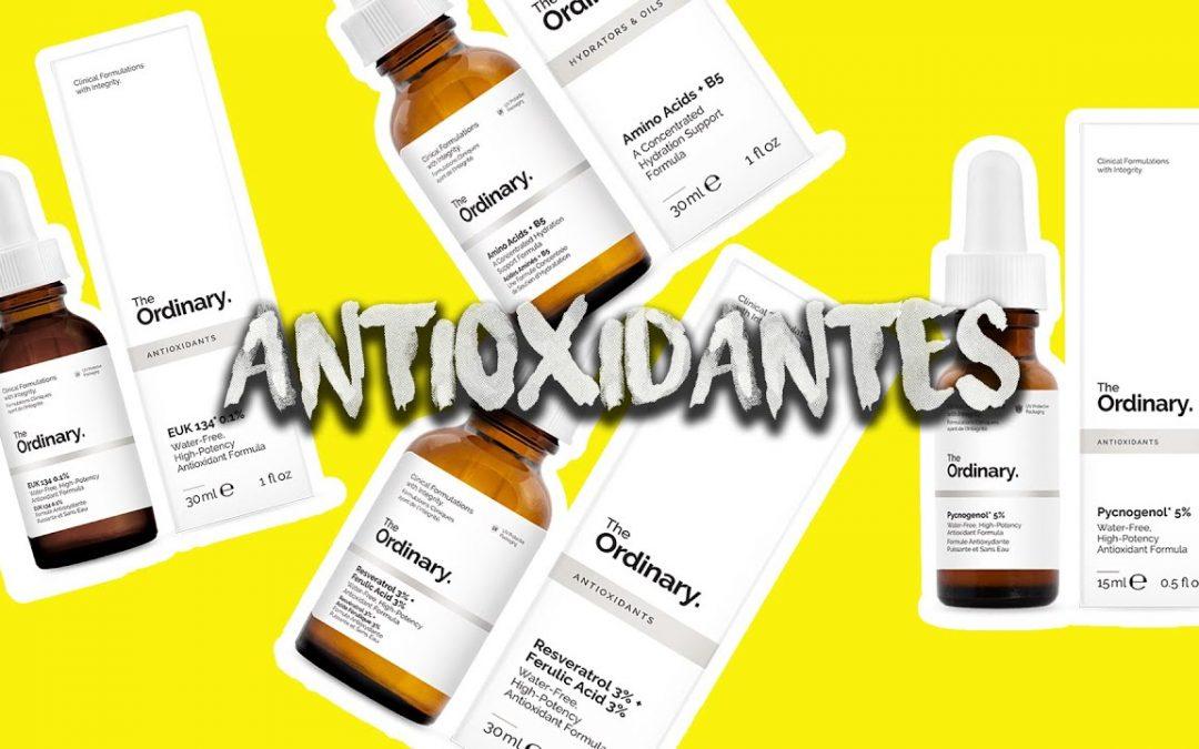 Antioxidantes de the ordinary: Resveratrol, EUK134, Amino Acids y Pycnogenol | Industrial Beauty